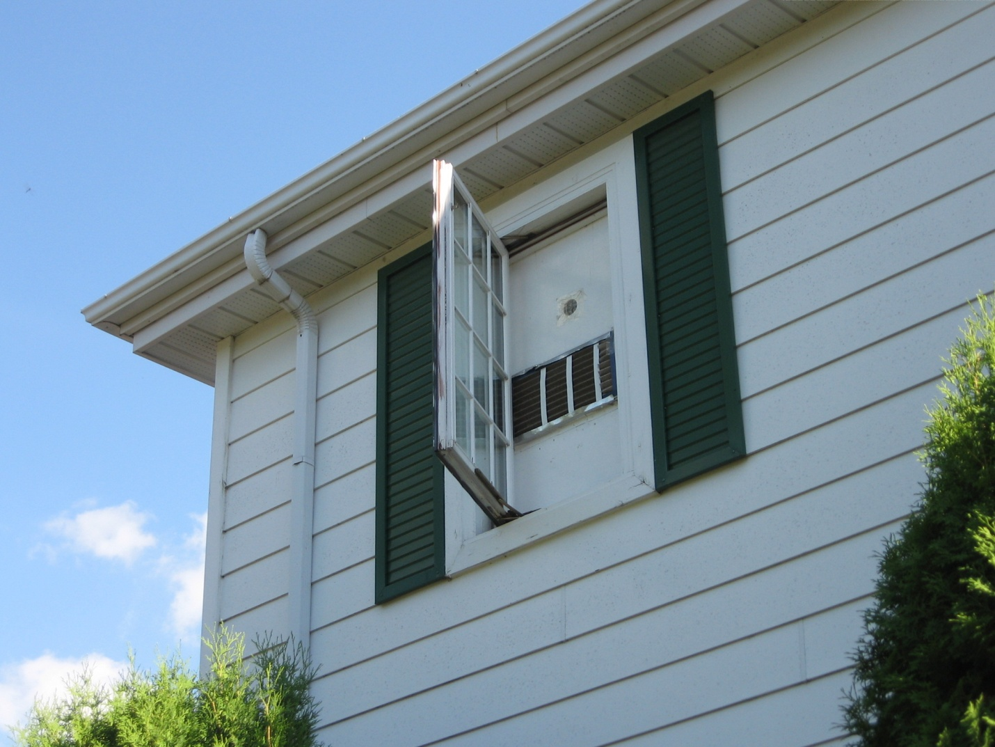 Low Cost Cooling Window Mounted Fan Saskatchewan Canada Air Conditioning