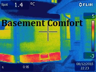 thermal imaging Saskatoon, basement comfort, thermography Saskatoon
